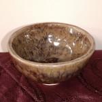Petit bol à thé émaillé brun H 5 cm x Diam. 8,5 cm : 8 €